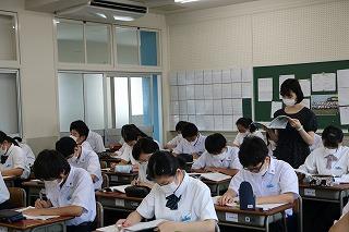 夏期課外授業が開始されました 生徒の活動 学校案内 大手前丸亀 ...